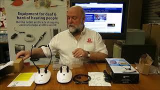 Geemarc CL7350 Wireless TV Listener Unboxing