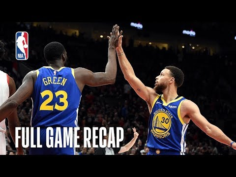 WARRIORS Vs TRAIL BLAZERS | Golden State Comes Back Again | Game 3