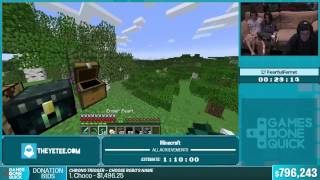 SGDQ 2015   Minecraft All Achievements By Fearful Ferret