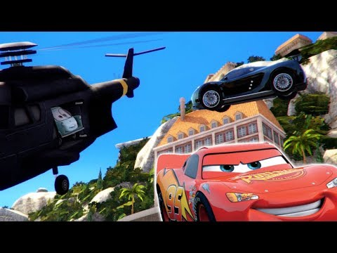 BECOMING A CARS SPY WITH LIGHTNING MCQUEEN! - RUSH: A Disney Pixar Adventure Gameplay