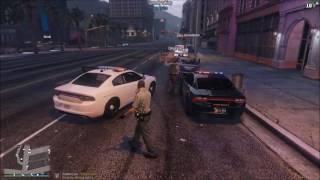 Traffic Stop Turns Into Felony Stop | GTA 5 FiveReborn LSCS Police Roleplay
