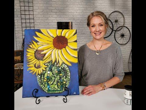 Canvas enhancements with Apoxie Sculpt & Erin Gerlach