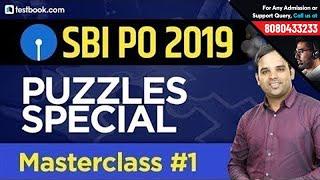 SBI PO 2019 | Puzzles for SBI PO Reasoning | Masterclass #1 by Sachin Modi Sir