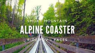 Ride The Smoky Mountain Alpine Coaster! POV (HD Quality)