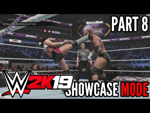 WWE 2K19 | SHOWCASE #8 | Daniel Bryan vs Triple H WRESTLEMANIA