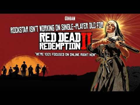 Rockstar isn't working on single-player DLC for Red Dead Redemption 2