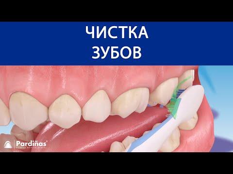 Чистка зубов ©