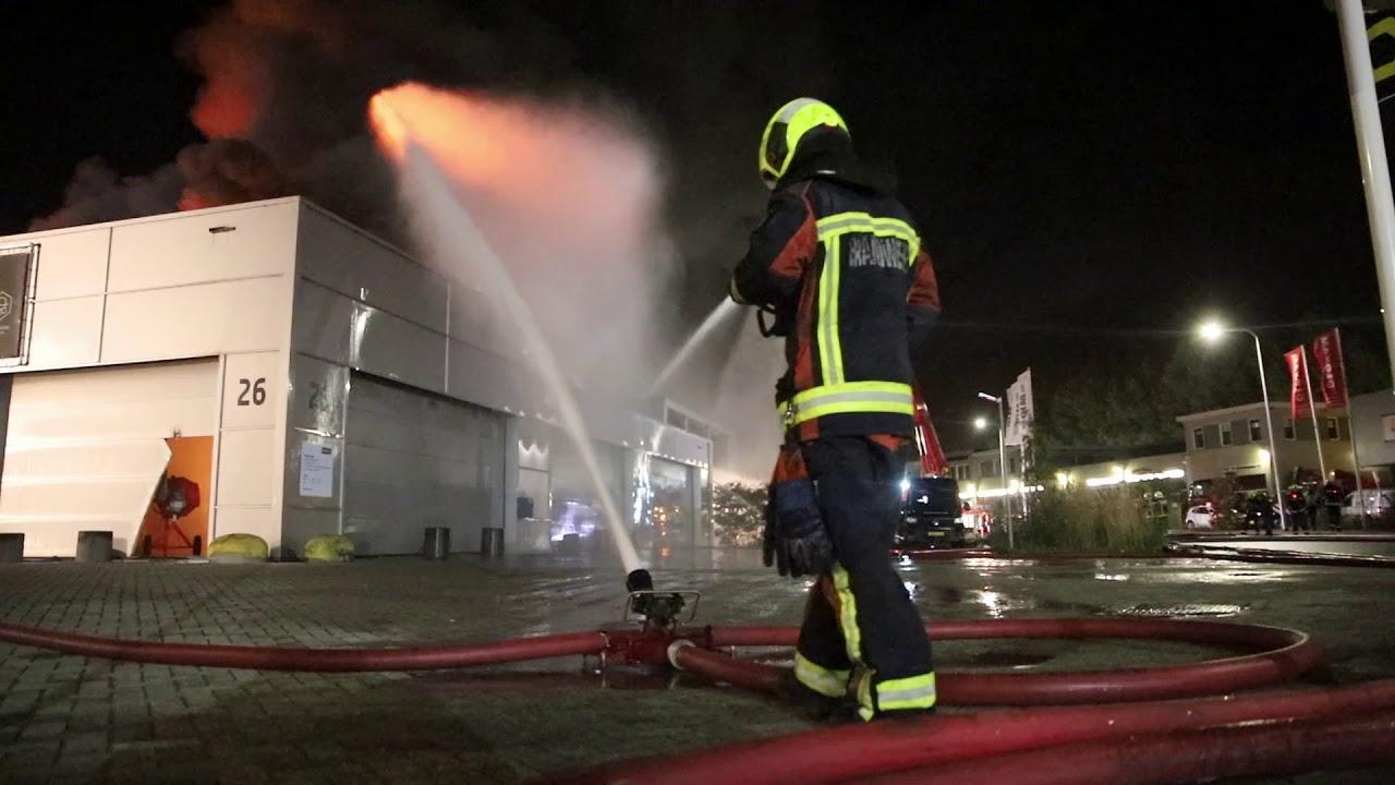 04-11-2020 Zeer grote brand in Gouda – deel 3: Na de vlammenzee