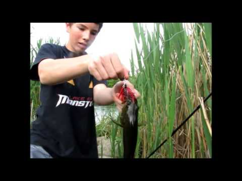 Booyah Pond Magic Spinnerbait review with clips
