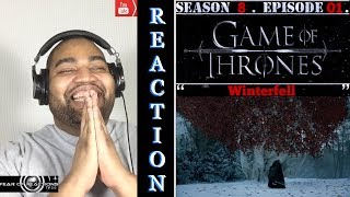"Game of Thrones 8x01 ""Winterfell"" Reaction"