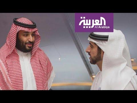 العرب اليوم - شاهد: محمد بن سلمان يلتقي شخصيات عدة في أبوظبي