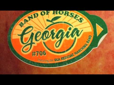 Georgia (2010) (Song) by Band of Horses and University of Georgia Redcoat Marching Band