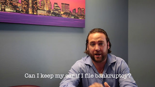 Keeping a Car If Filing Bankruptcy   Frequently Asked