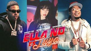 Descargar MP3 de Ella No Es Tuya Remix Rochy Rd Myke Towers Nicki Nicole