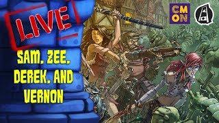Zombicide: Green Horde LIVE!! (w/Sam, Zee, Derek, and Vernon)