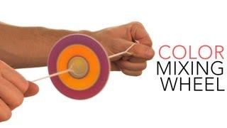 Color Mixing Wheel - Sick Science! #020