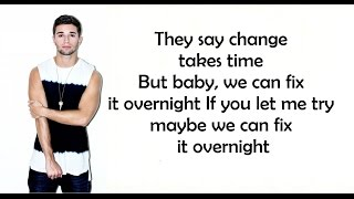 Overnight - Jake Miller (Lyrics)