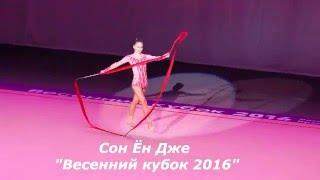"""Сон Ён Дже """"Весенний кубок 2016"""" г. Красноярск"""