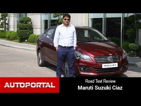 Maruti Suzuki Ciaz Test Drive Review - Autoportal