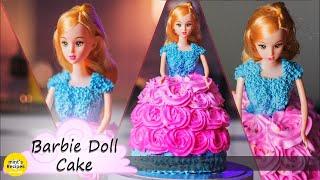 Barbie Doll Cake Decorating | Cake Recipes | Mintsrecipes