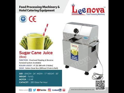Leenova Sugar Can Machine ECO