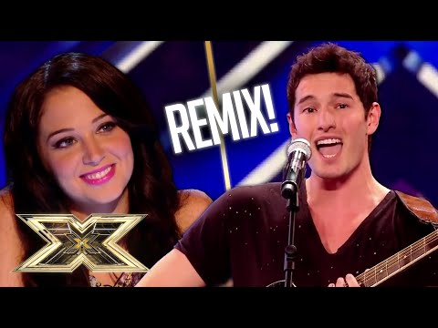 Hunky Times Red perform UNRECOGNISABLE remix of Amy Winehouse's Rehab! | The X Factor UK