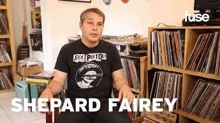 Shepard Fairey's Vinyl Collection - Crate Diggers