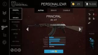 LA AK 47 EN BULLET FORCE Y LA MP5 EN CREDITOS ACTUALIZACION DE BULLET FORCE