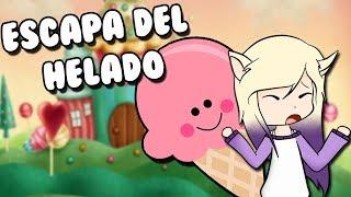 ESCAPA DEL HELADO GIGANTE | Roblox Ice Cream Obby en español