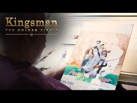 Kingsman: The Golden Circle (Featurette 'Al Jaffee Creates the Golden Foldin')