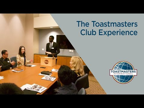 The Toastmasters Club Experience