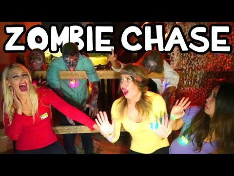 Zombie Run Halloween Obstacle Course Challenge. Totally TV