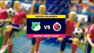 Cali Vs Cúcuta - Resumen Y Mejores Jugadas | Liga Aguila 2019-1 | Fecha 12