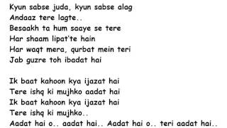 IJAZAT Full Song Lyrics Movie – One Night Stand | Arijit Singh
