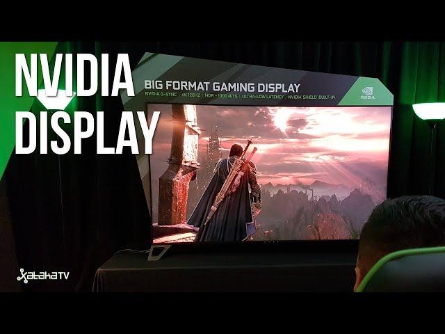 La GRAN pantalla de NVIDIA para GAMERS