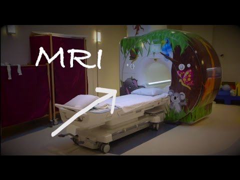 A Child's MRI with Anesthesia