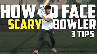 How to face Scary Fast Bowlers | Psychological Pressure | Nothing But Cricket
