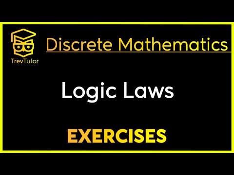 [Discrete Mathematics] Logic Laws Examples