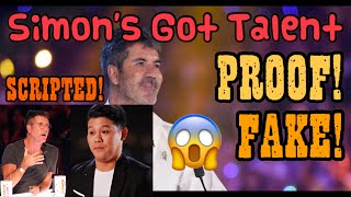PROOF THAT AGT IS FAKE AND SCRIPTED | MARCELITO POMOY DIDN'T WIN | AMERICAS GOT TALENT THE CHAMPIONS