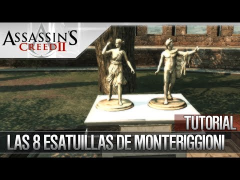 Assassin's Creed 2 | Walkthrough | Localización de las 8 estatuillas de Monteriggioni | Trofeo