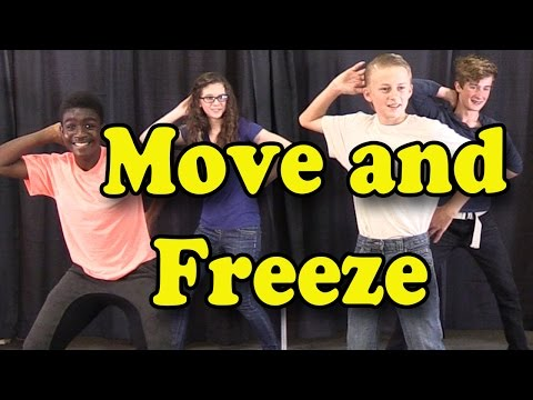Brain Breaks - Action Songs for Children - Move and Freeze - Kids Songs by The Learning Station