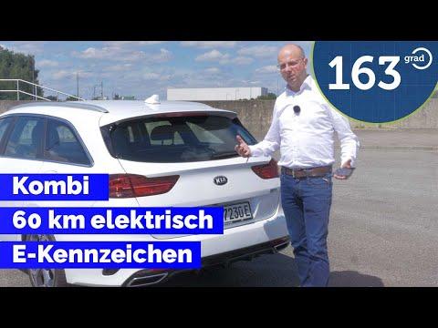 Kia Ceed Sportswagon Plug In Hybrid Test - Kombi mit bis zu 60 km elektrischer Reichweite - 163 Grad