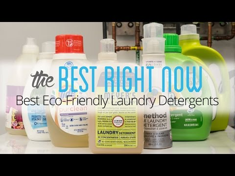 Mrs. Meyer's Clean Day is the best eco-friendly laundry detergent