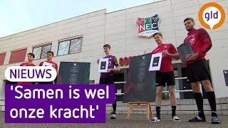 'We missen jullie', trouwe NEC-fans krijgen cadeautje van voetbalclub