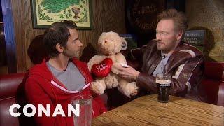 Conan & Jordan Schlansky Talk About Love 02/15/11  - CONAN on TBS - Video Youtube