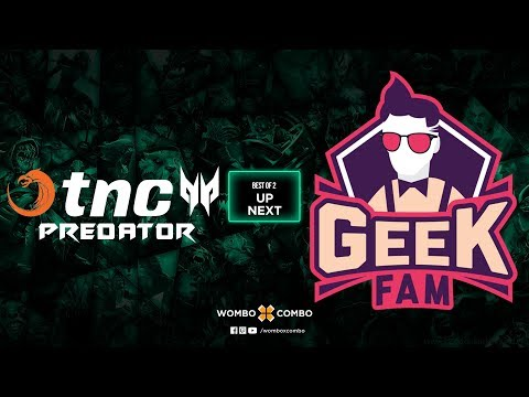 TNC Predator vs Geek Fam Game 2 l China dota2 supermajor SEA Qualifiers (BO2)