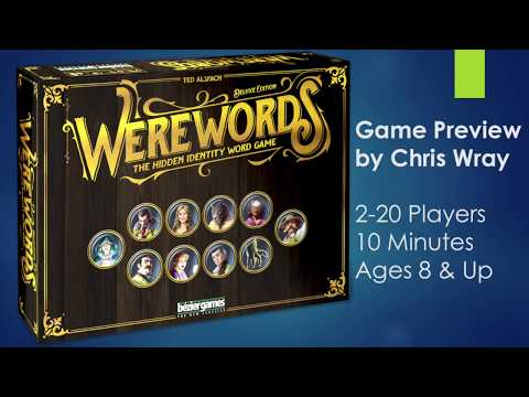 Werewords Deluxe Edition (Kickstarter Preview by Chris Wray)