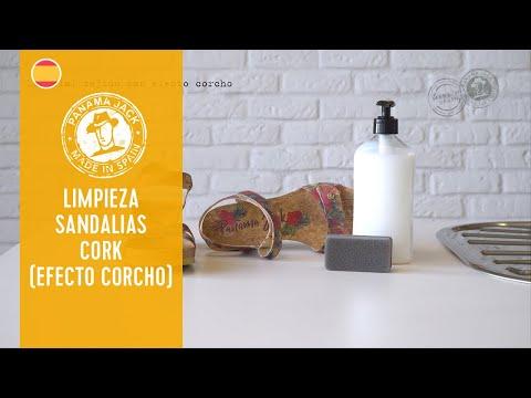 Limpieza Sandalias Panama Jack - Cork (Efecto Corcho)