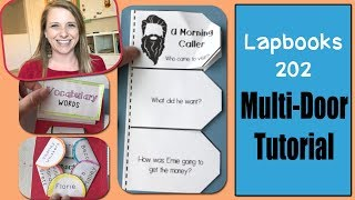 How To Make Mini-books For Your Lap Book Unit Study.