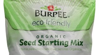 Burpee Eco-friendly Seed Starting Mix